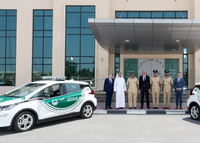 Chevrolet Bolt In the service of Dubai Police