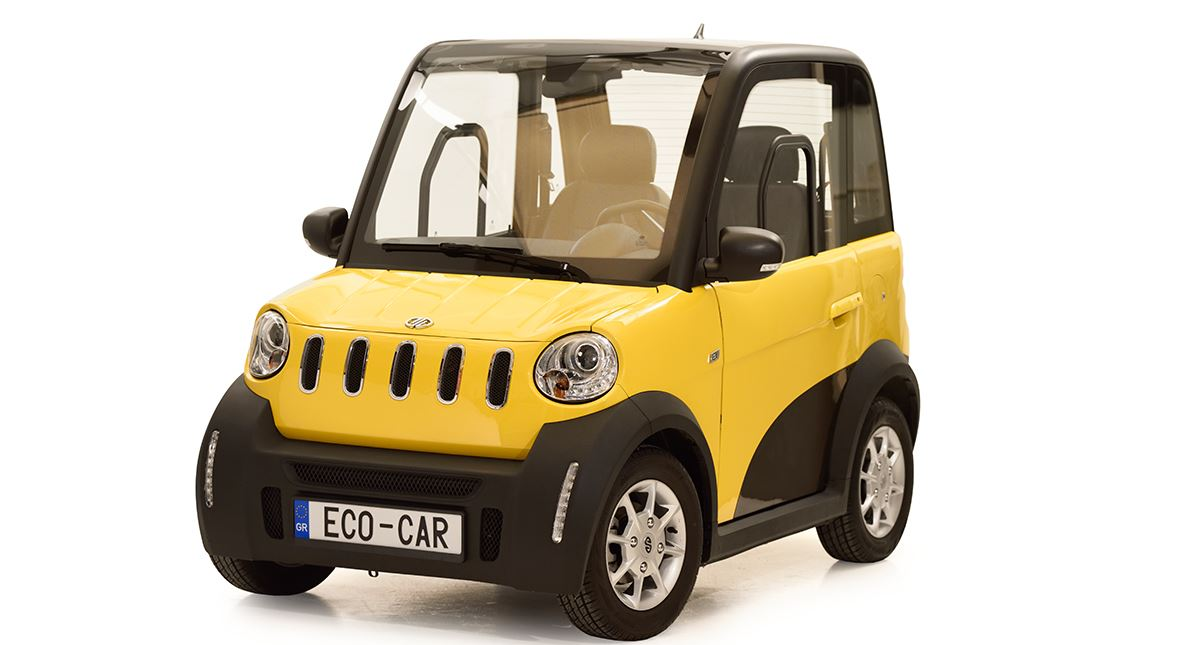 Eco-car : Τhe first Greek pure electric car
