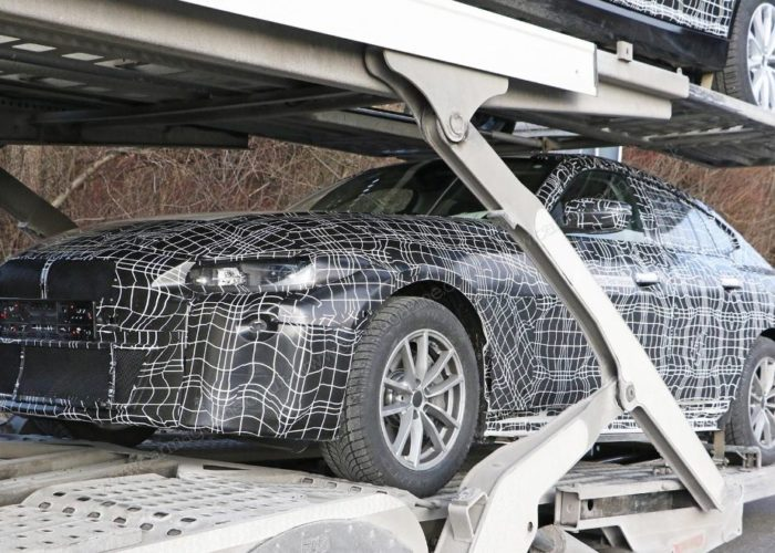 Electric BMW i4 First spied photos