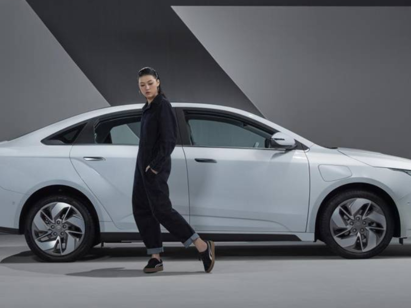 The world pure electric car by Geely