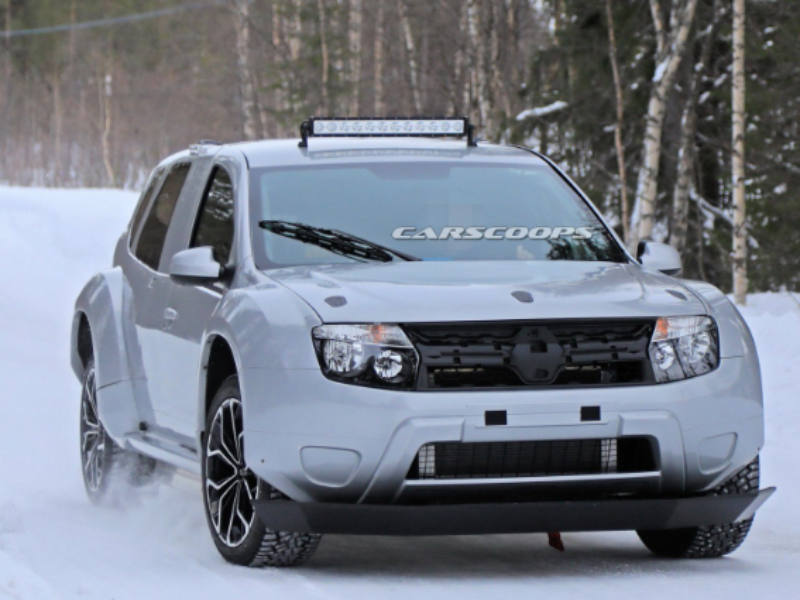 Dacia is testing an electrically modified Duster