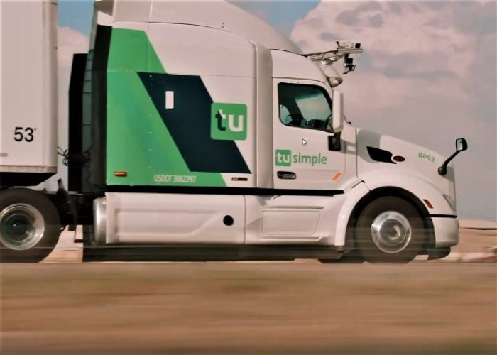 USPS and TuSimple tests postal with autonomous trucks