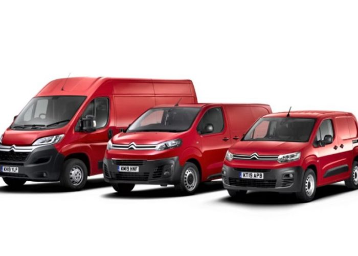 New Citroen Relay electric series professional vehicles
