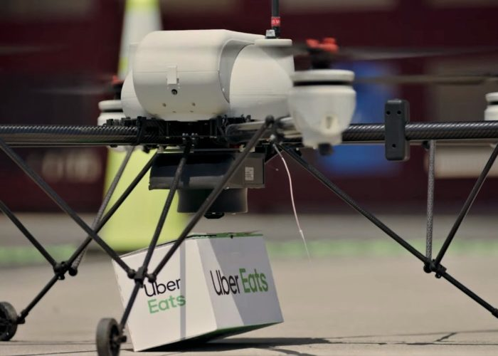 Uber launches drones food delivery in San Diego