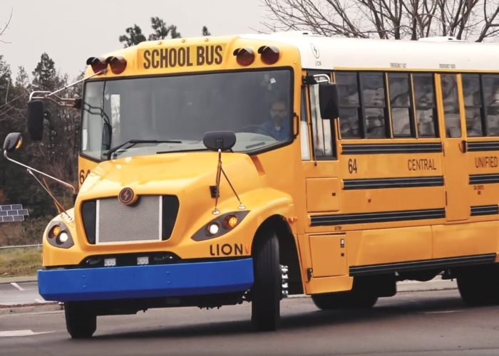 Electric school buses replace Diesel in California