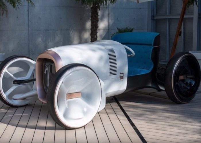 Vision Mercedes Simplex : Electric power and Retro harmony