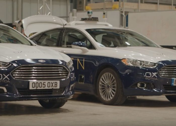 Autonomous Ford Mondeo testing in London launched from Oxbotica