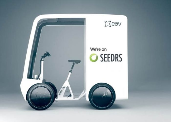 EAVan : Could an ebike the ideal delivery vehicle courier?
