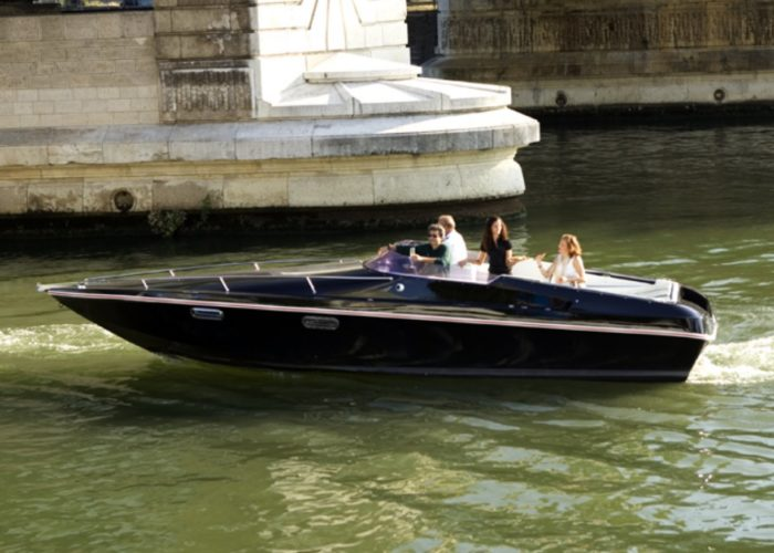 'Second life' batteries used to power Black Swan electric yacht