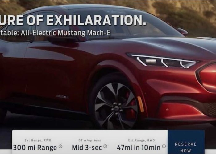 Ford Mustang Mach-1 SUV revealed earlier