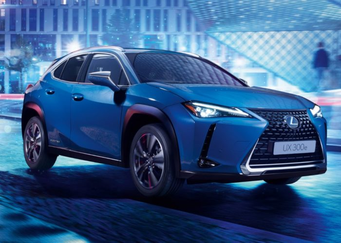 Lexus UX300e electric SUV with 400 km of range