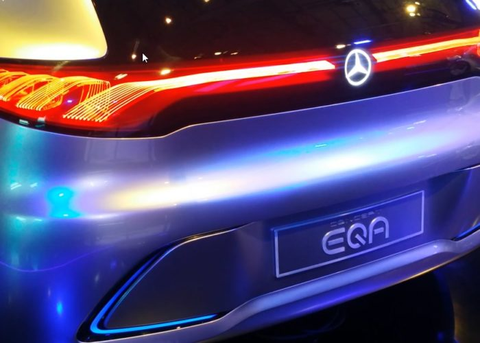 Mercedes confirms electric EQA for 2020